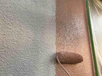 変換 ~ 狭山市 外壁塗装 ベランダ防水工事 外壁中塗り (2).jpg