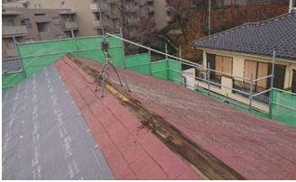 棟板金 釘 浮き 貫板 劣化
