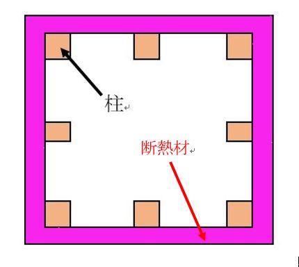 柱 断熱材 防寒 リフォーム 外張り断熱.JPG