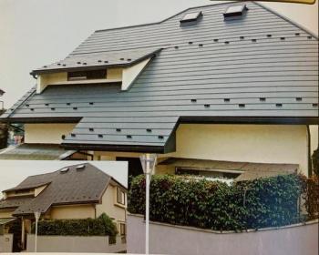 屋根 屋根リフォーム スーパーガルベスト 軽量 ガルバリウム鋼板2