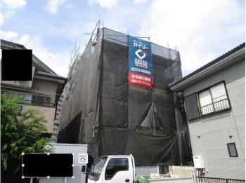 所沢市 屋根補修 外壁塗装 養生作業 (1-2).JPG