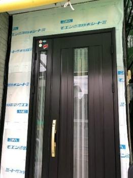 入間市 屋根外壁塗装 玄関周りサイディング交換工事 (8).jpg