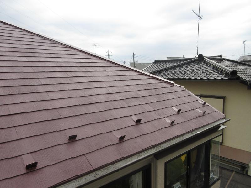 所沢市 屋根塗装 外壁塗装 施工後