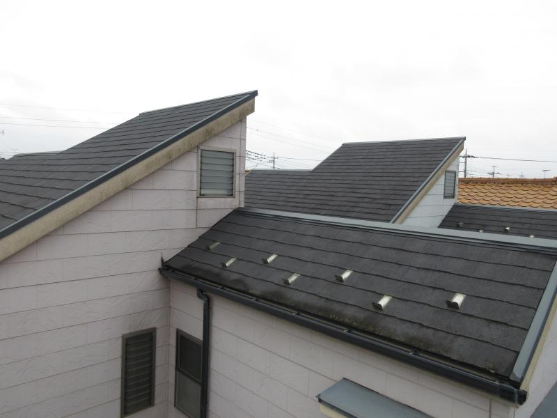 狭山市 屋根 外壁 塗装リフォーム 施工前 屋根 (6).JPG