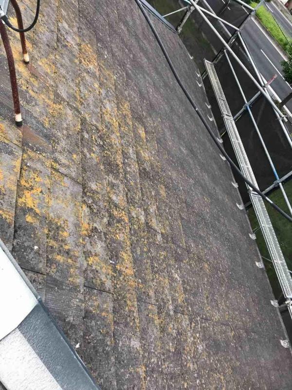 所沢市 屋根塗装 外壁塗装 施工前