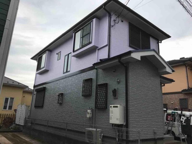 入間市 屋根 外壁 附帯部 ベランダ防水 塗装リフォーム 施工後 (2).jpg
