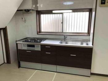 所沢市 内装工事 キッチン完成1.jpg