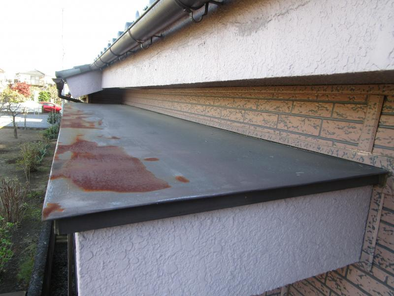 入間市 屋根葺き替え 付帯部塗装 手すり設置 現地調査 (5).JPG
