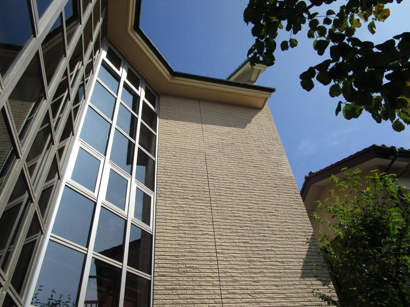 所沢市 外壁タイル 剥落防止工事 塗装工事 屋根補修 施工後