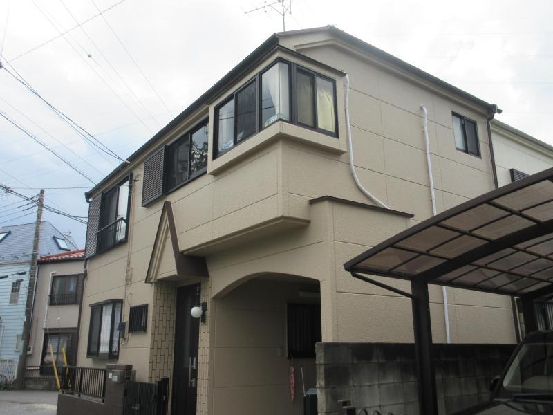所沢市 屋根塗装 外壁塗装 施工後3