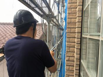 所沢市 外壁タイル 打音検査