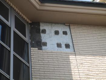 所沢市 外壁タイル 張り替え 施工前