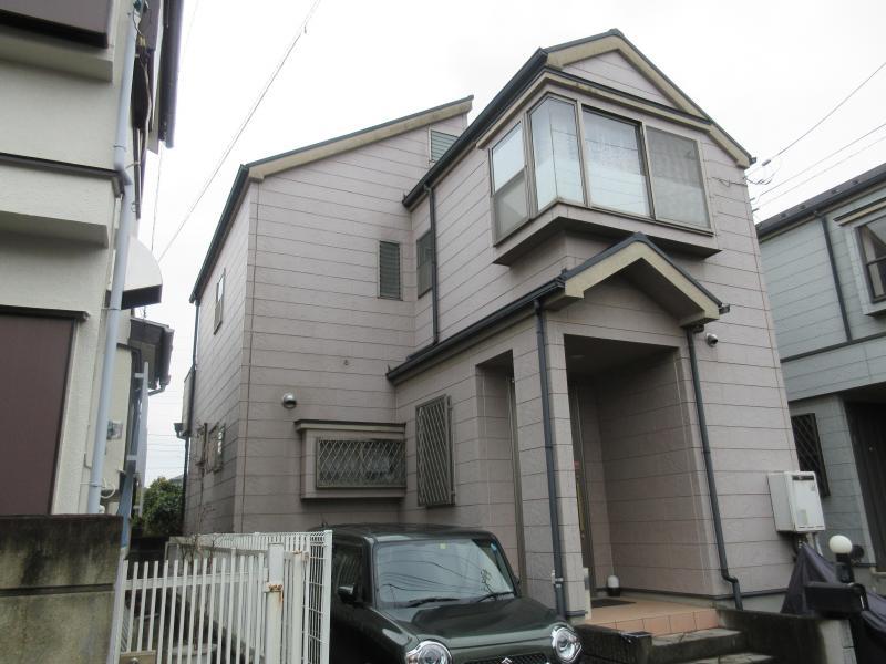 狭山市 屋根 外壁 塗装リフォーム 施工前 (2).JPG
