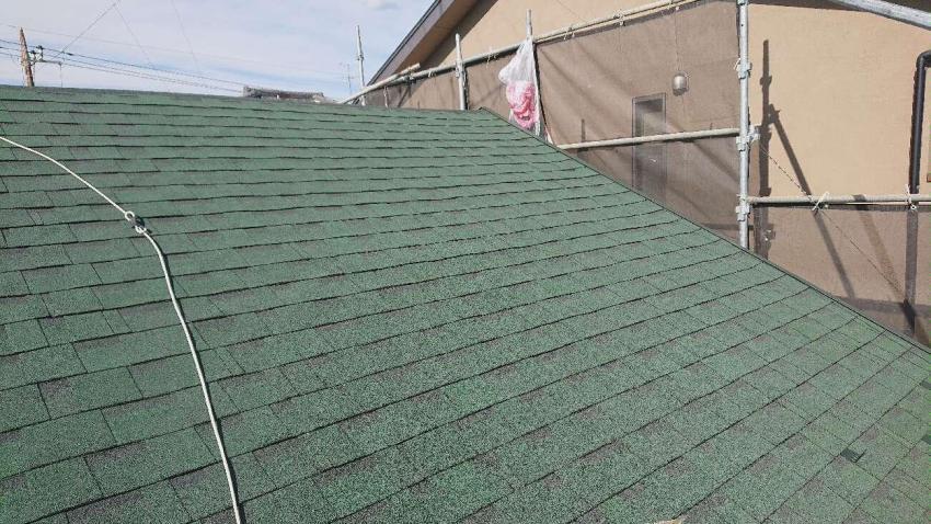 入間市 屋根カバー 外壁塗装工事 屋根カバー防水紙、オークリッジ施工 (9).JPG