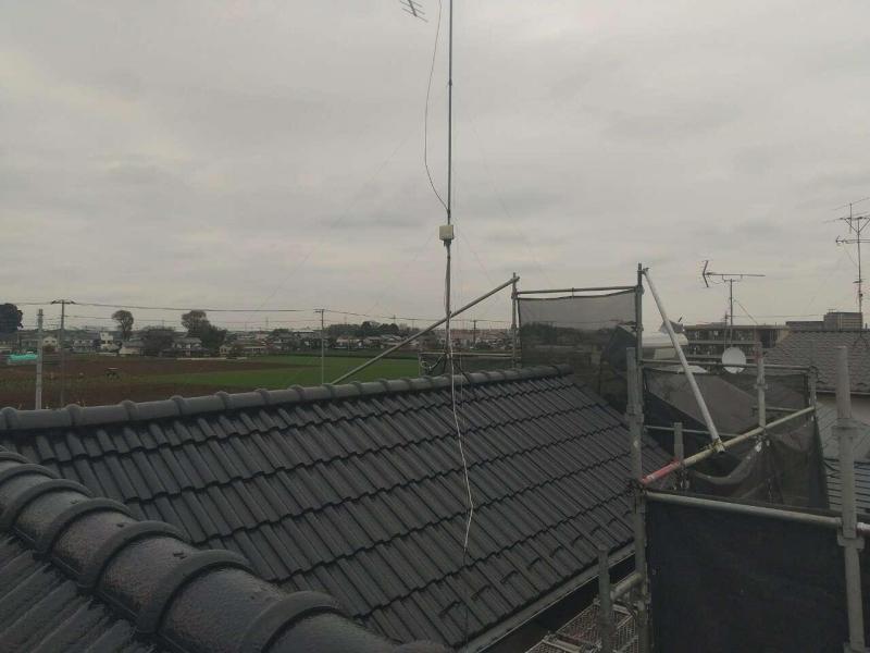 所沢市 屋根塗装 施工後