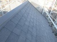 意匠性の高いアスファルトシングル屋根で耐久性や防水性だけでなく美観も良くなりました!
