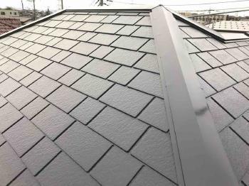 高耐久のフッ素樹脂塗料による屋根と外壁の塗り替えリフォームで外観が一新されました!